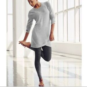 Athleta criss cross sweatshirt tunic